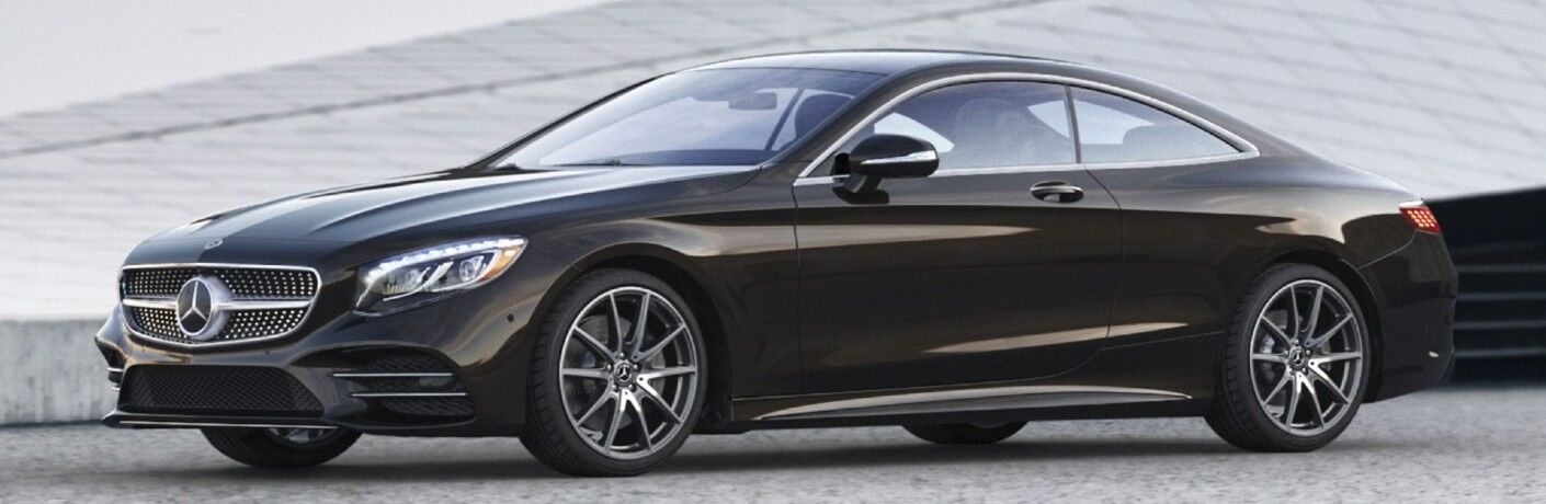 The 2021 Mercedes-Benz S 560 4MATIC® Coupe facing to the left.