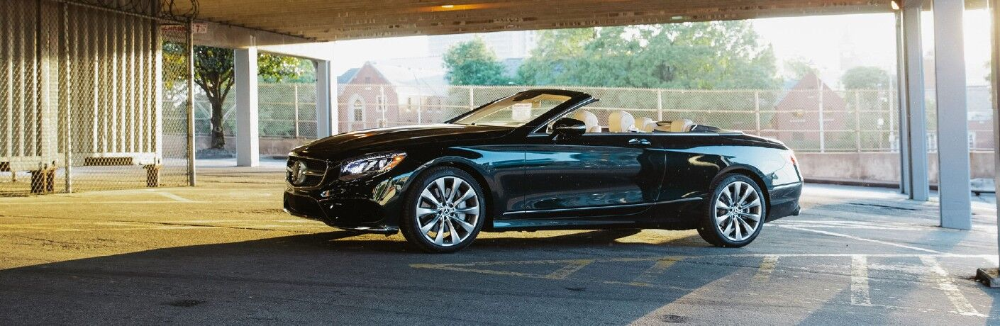 A left profile look at the 2021 Mercedes-Benz S-Class Cabriolet in Indianapolis, IN.