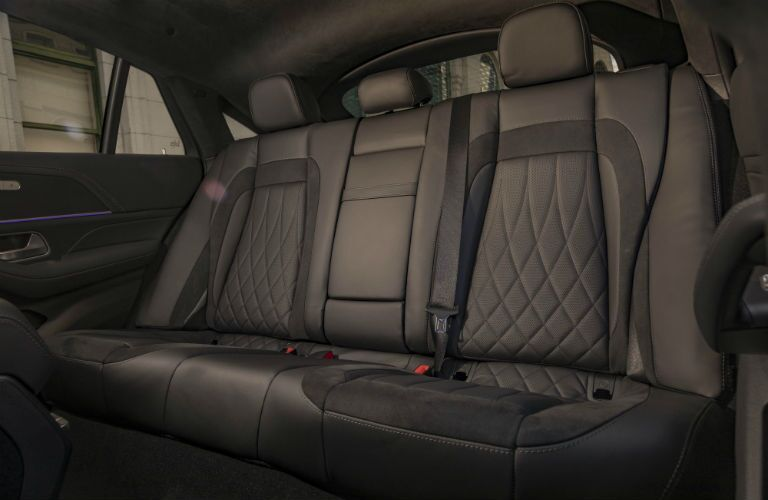 A photo of the back seats in the 2021 Mercedes-AMG® GLE 53 Coupe.