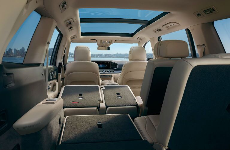 A photo of one of the interior configurations available in the 2021 Mercedes-Benz GLS 450 4MATIC®.