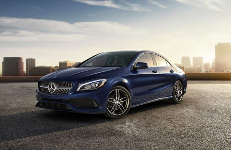 2018 Mercedes-Benz CLA 250 4MATIC exterior