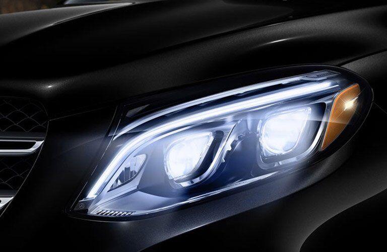 New GLE headlight