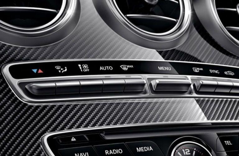 2018 Mercedes-Benz AMG C 63 S Coupe center console