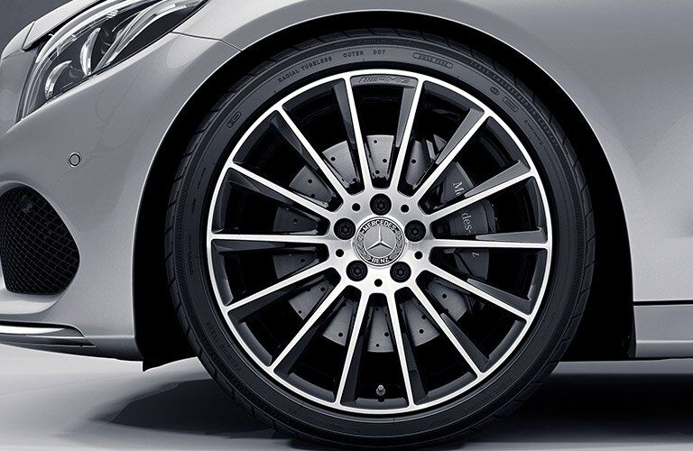 2017 Mercedes-Benz C-Class C 63 AMG Exterior Wheels