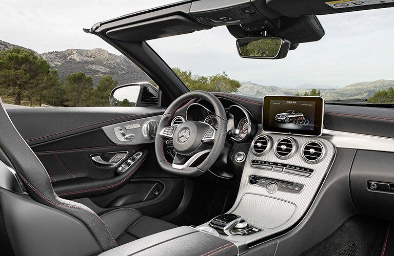 2017 Mercedes-Benz C-Class C 63 AMG Interior Cabin Dashboard