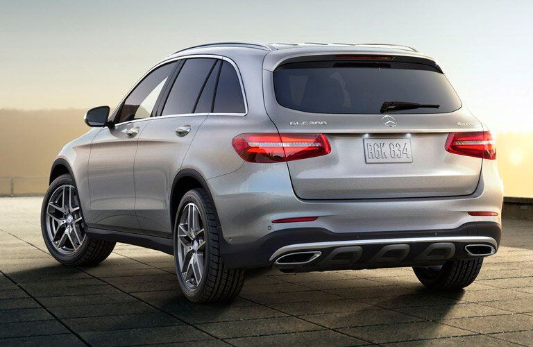 2017 Mercedes-Benz GLC SUV Exterior Rear Profile