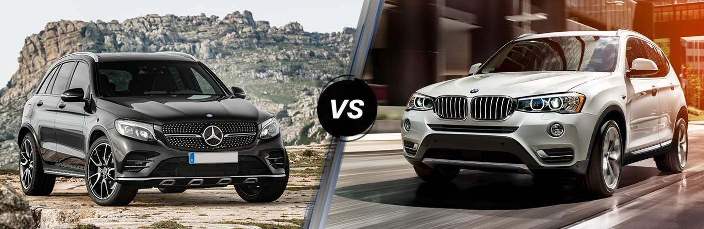 2017 Mercedes-Benz GLC vs 2017 BMW X3