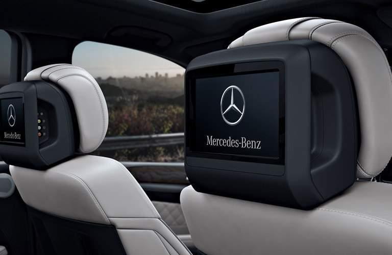 2017 Mercedes-Benz GLS headrest screens