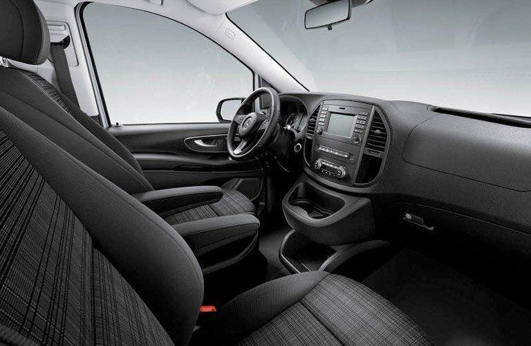 2017 Mercedes-Benz Metris Passenger Van Interior Front Seat
