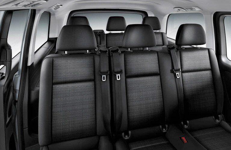2017 Mercedes-Benz Metris Passenger Van Interior Seats