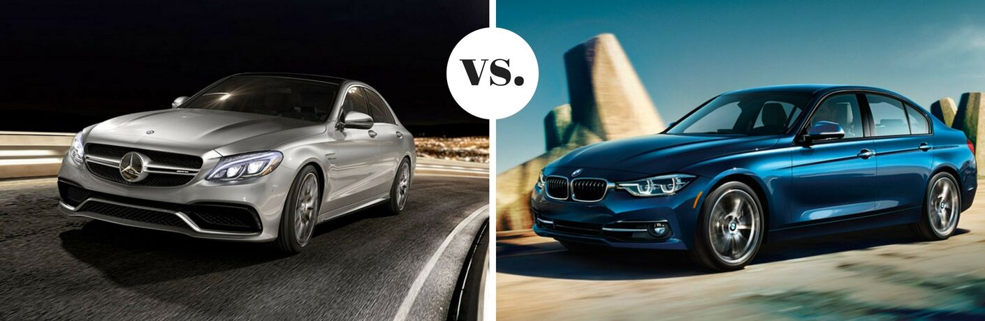 2017 Mercedes-Benz C300 vs BMW 320i