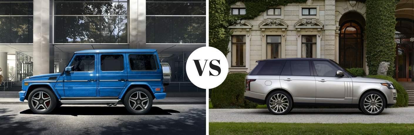 2017 Mercedes-Benz G-Class vs 2017 Land Rover Range Rover
