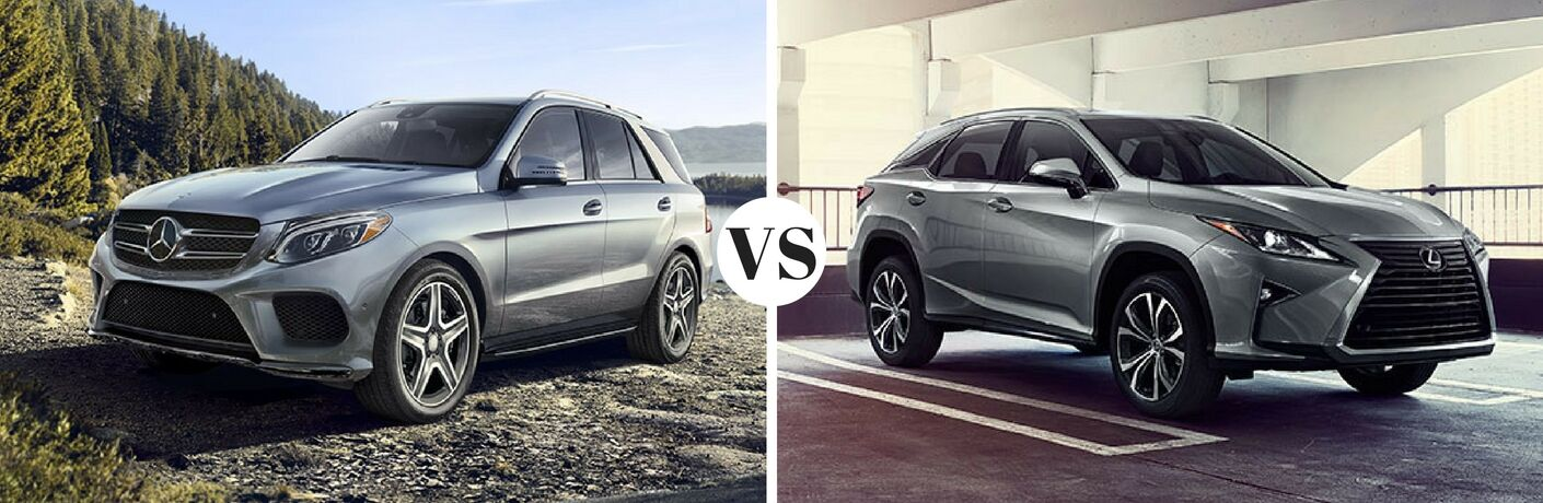 2017 Mercedes-Benz GLE vs 2017 Lexus RX