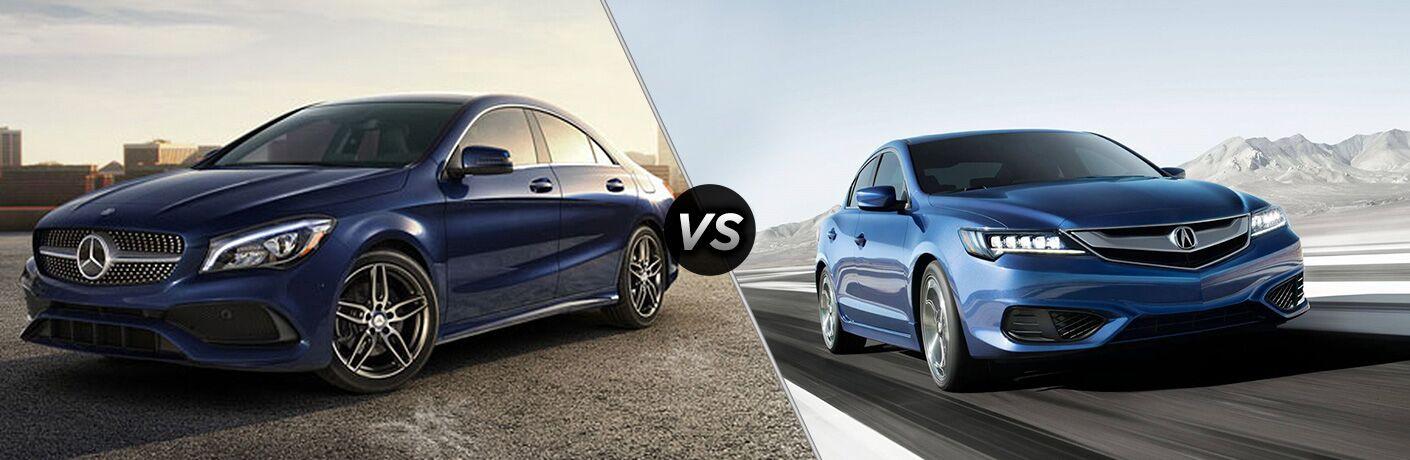 2019 Mercedes-Benz CLA 250 vs 2019 Acura ILX