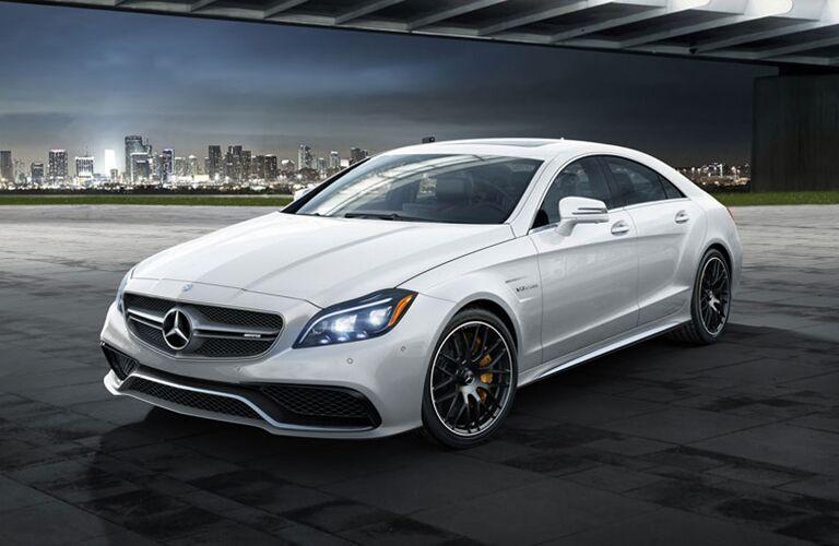 2018 Mercedes-Benz CLS 550 Coupe exterior profile