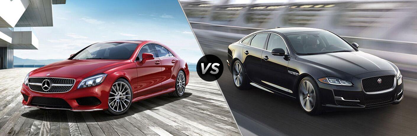 2018 Mercedes-Benz CLS vs 2018 Jaguar XJ