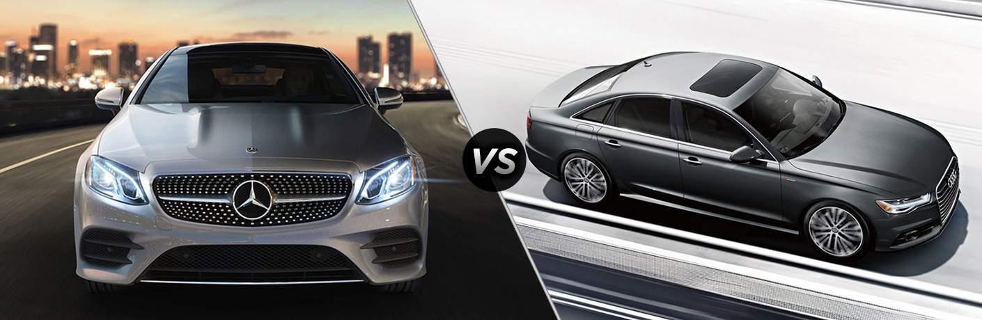 2018 Mercedes-Benz E 300 vs 2018 Audi A6