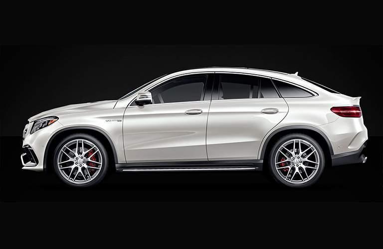 2018 Mercedes-Benz GLE 350 side exterior profile