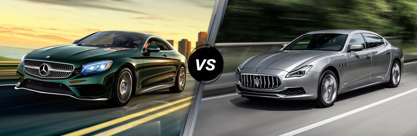 2019 Mercedes-Benz S 560 vs 2019 Maserati Quattroporte
