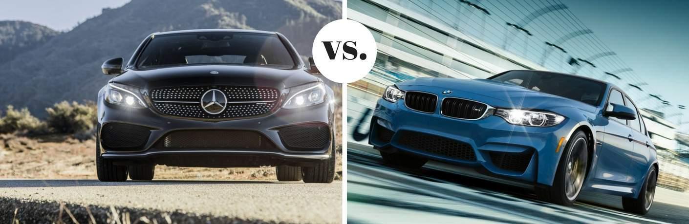 2018 Mercedes-Benz AMG C 63 vs 2017 BMW M3