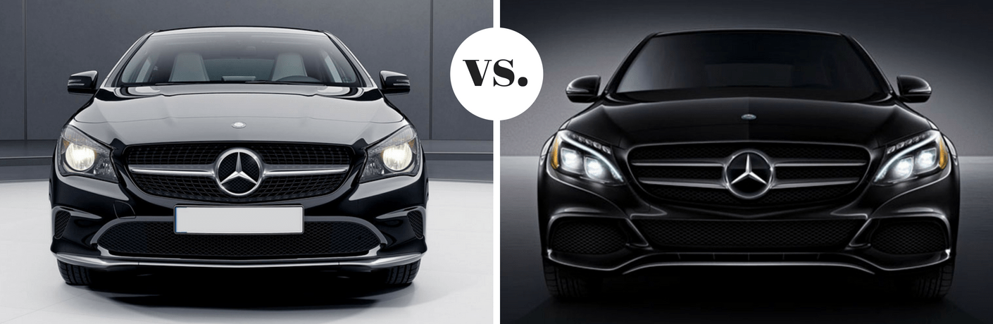 2018 Mercedes-Benz CLA 250 vs 2018 Mercedes-Benz C 300