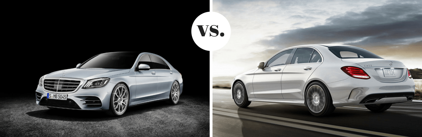 2018 Mercedes-Benz S 560 vs 2018 Mercedes-Benz E 300