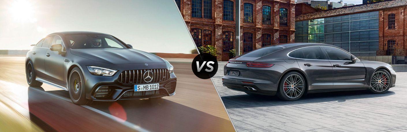 2019 Mercedes-Benz AMG® GT 63 vs 2019 Porsche Panamera Turbo