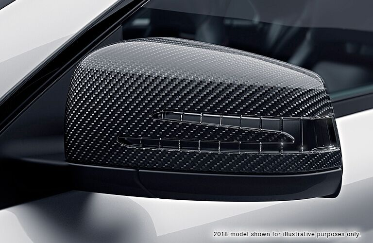 2019 Mercedes-Benz CLA 250 side mirror