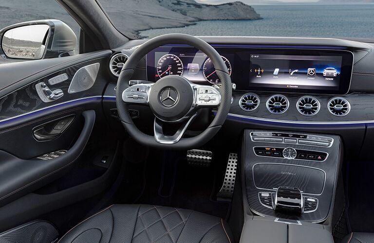 2019 Mercedes-Benz CLS front interior