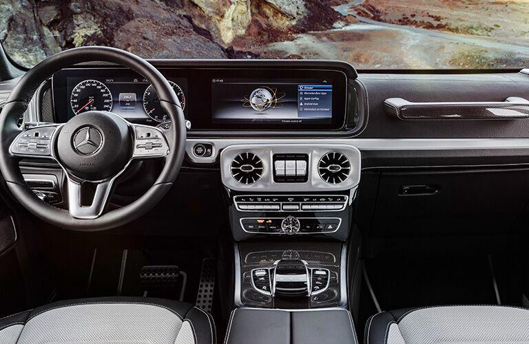 2019 Mercedes-Benz AMG® G 63 front interior