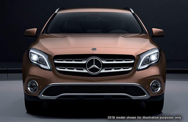 2019 Mercedes-Benz GLA exterior profile