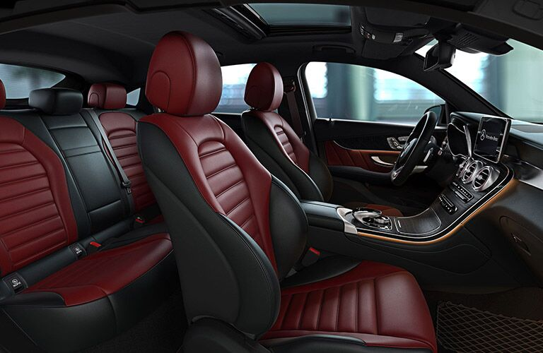 2019 Mercedes-Benz GLC 300 4MATIC® Coupe interior
