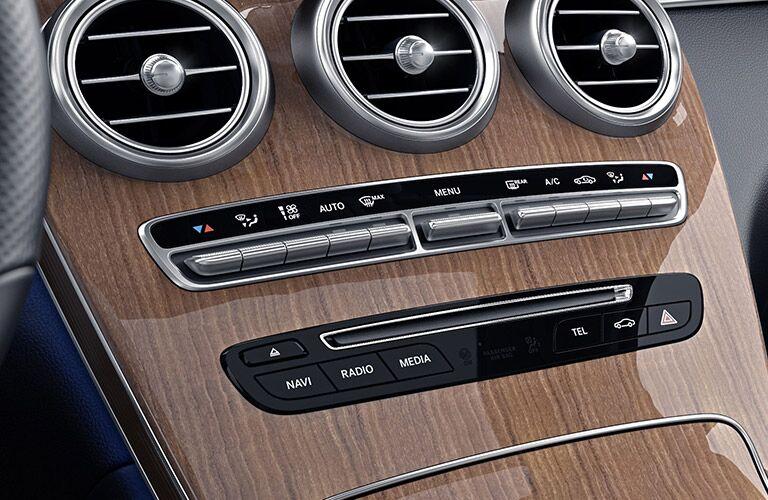 2019 Mercedes-Benz GLC 300 4MATIC® Coupe center console
