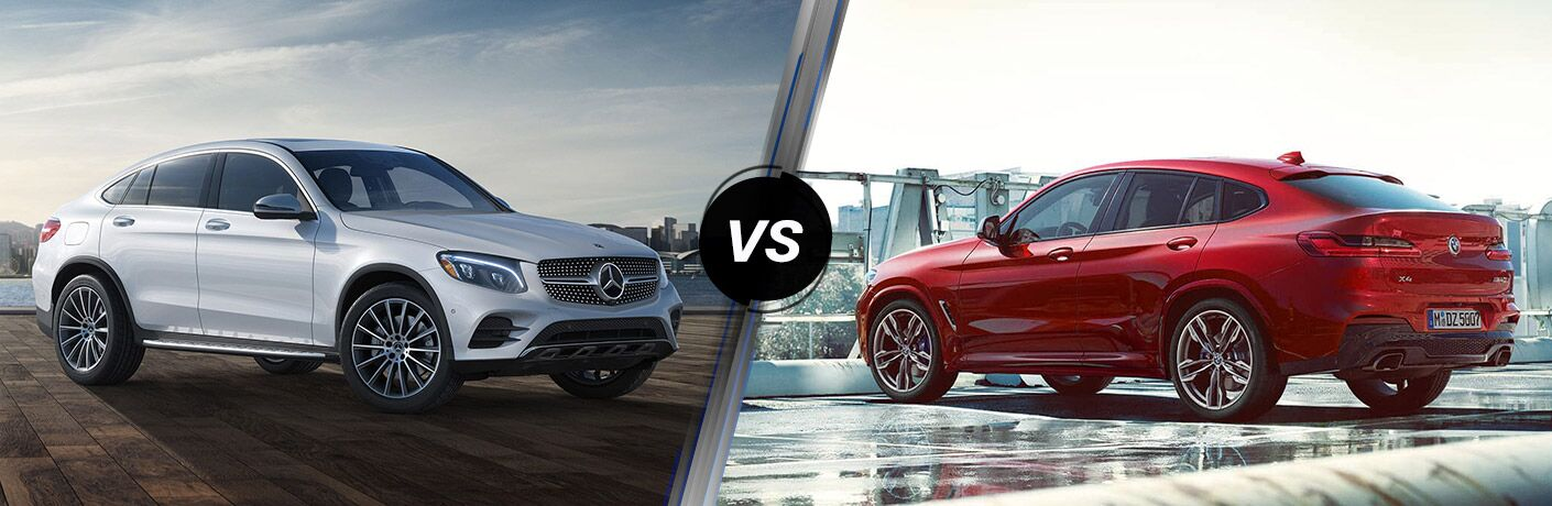 2019 Mercedes-Benz GLC Coupe vs 2019 BMW X4