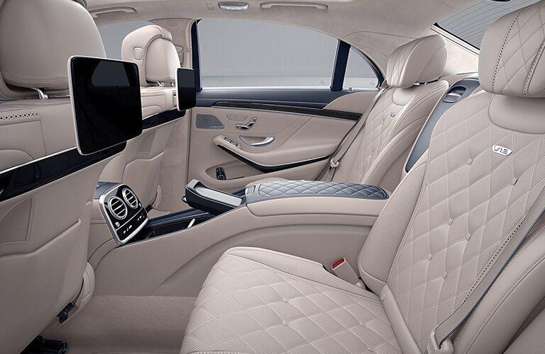 2019 Mercedes-Benz S-Class rear interior