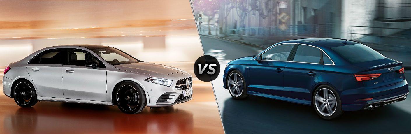 2019 Mercedes-Benz A-Class Sedan vs 2018 Audi A3