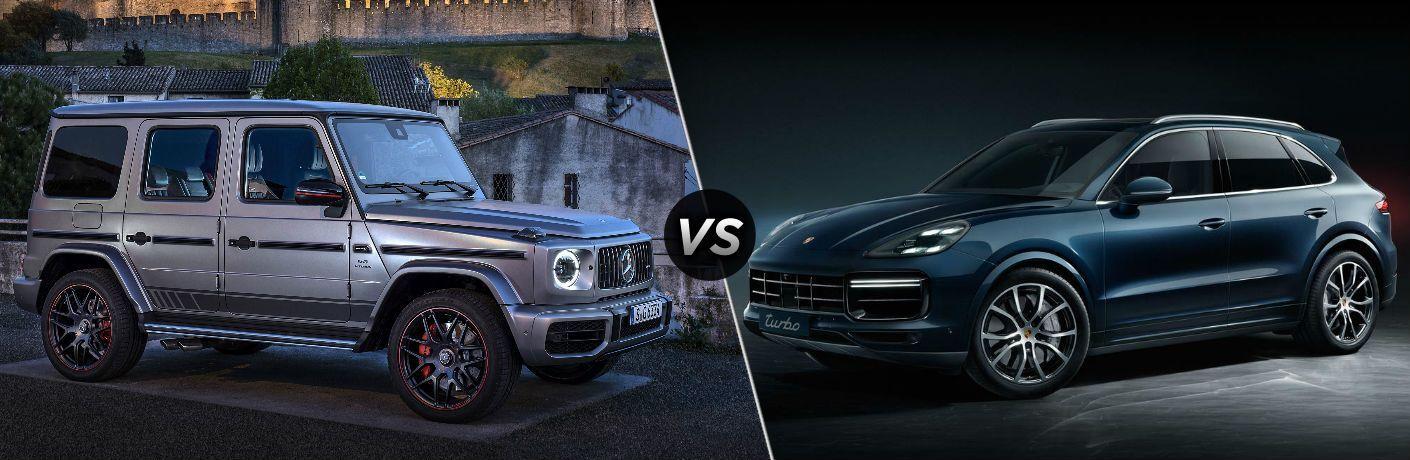 2019 Mercedes-Benz AMG® G 63 vs 2019 Porsche Cayenne Turbo