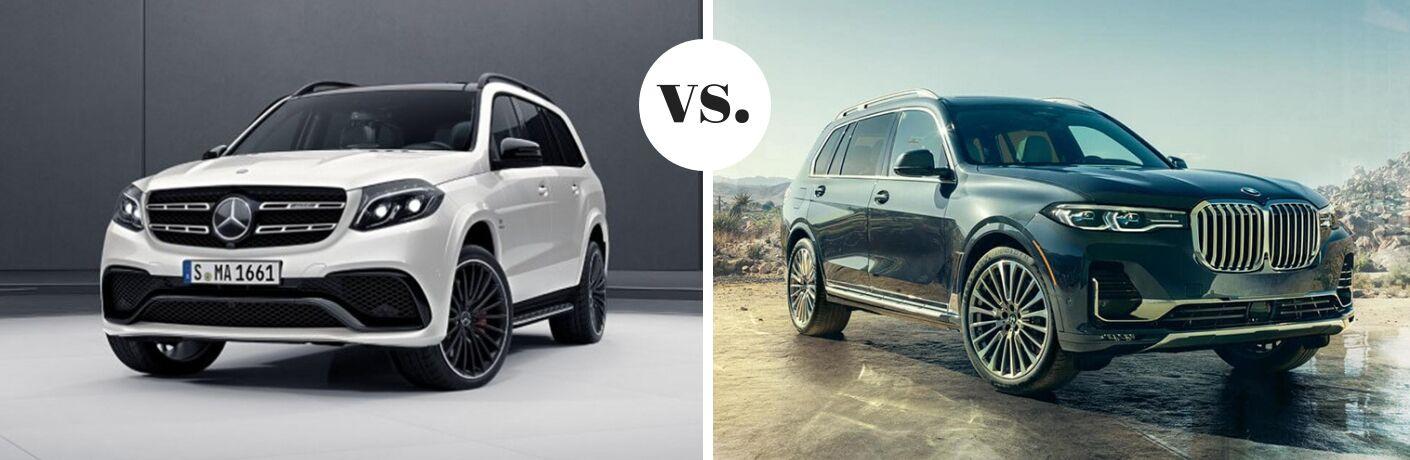 2019 Mercedes-Benz GLS 450 4MATIC®* vs 2019 BMW X7