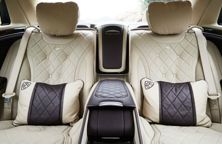 hand-stitched seats in 2017 Mercedes-Benz Maybach