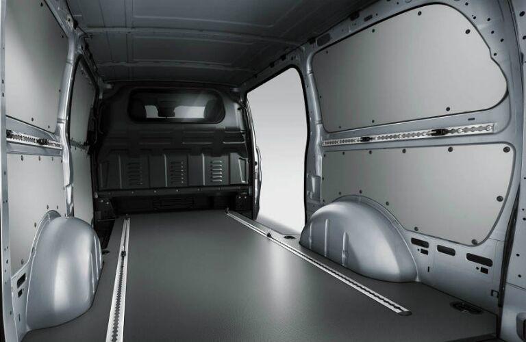 Cargo space in the 2017 Mercedes-Benz Metris Cargo Van