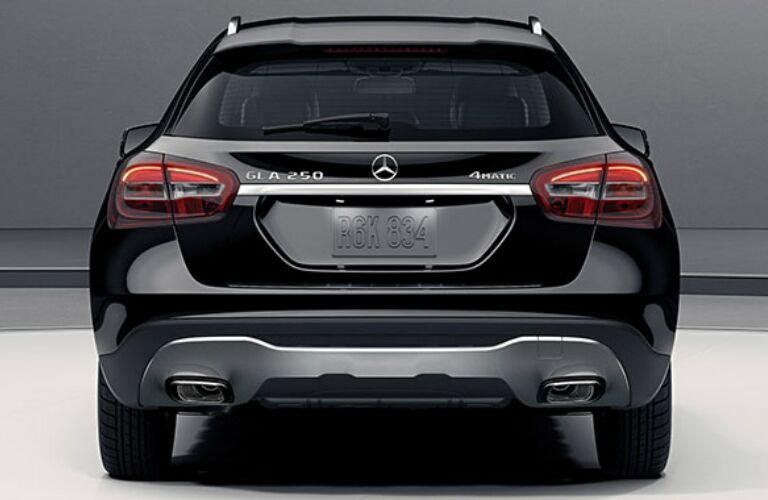 Behind the 2018 Mercedes-Benz GLA 4MATIC®