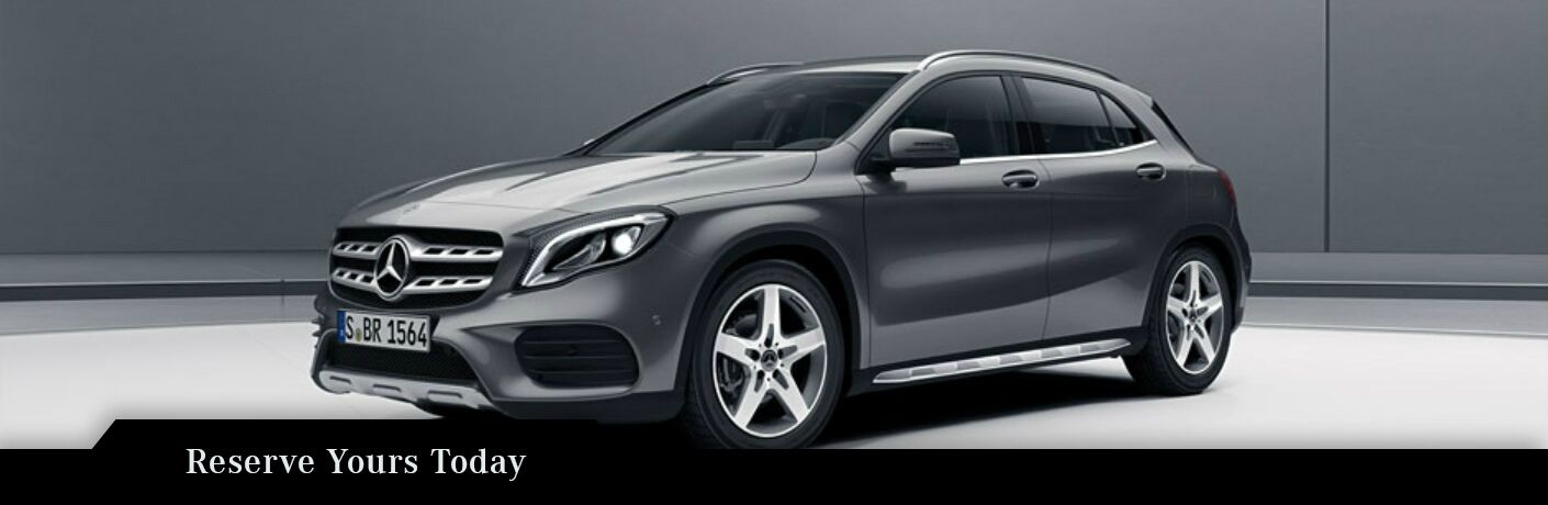 Reserve a 2018 Mercedes-Benz GLA Fayetteville NC