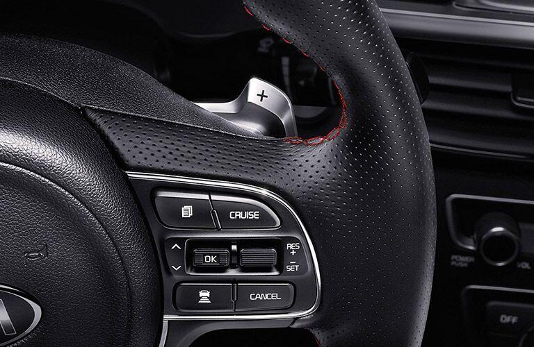 2016 Kia Optima Cruise Control Steering Wheel