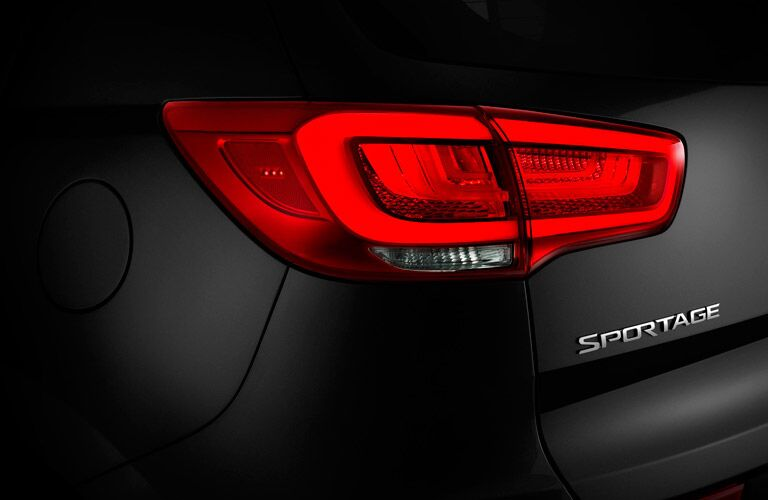 2016 Kia Sportage Taillight design
