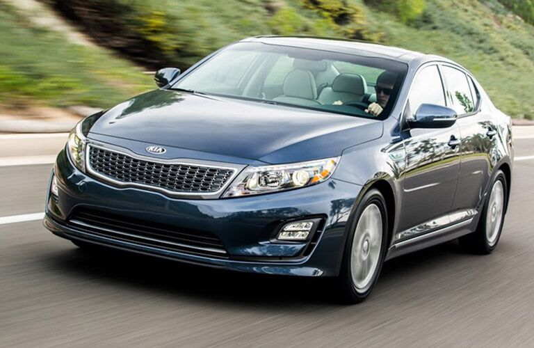 2016 Optima Hybrid Exterior Color options