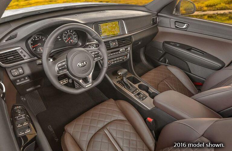 2017 Kia Optima Interior Cabin