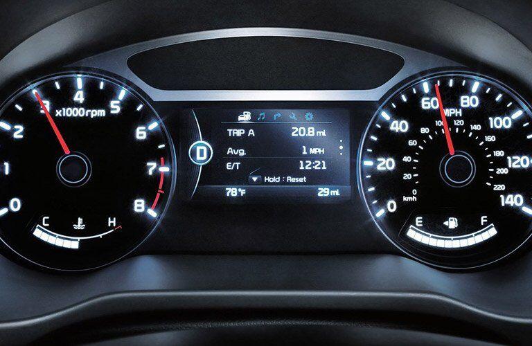 2017 Kia Soul speedometer