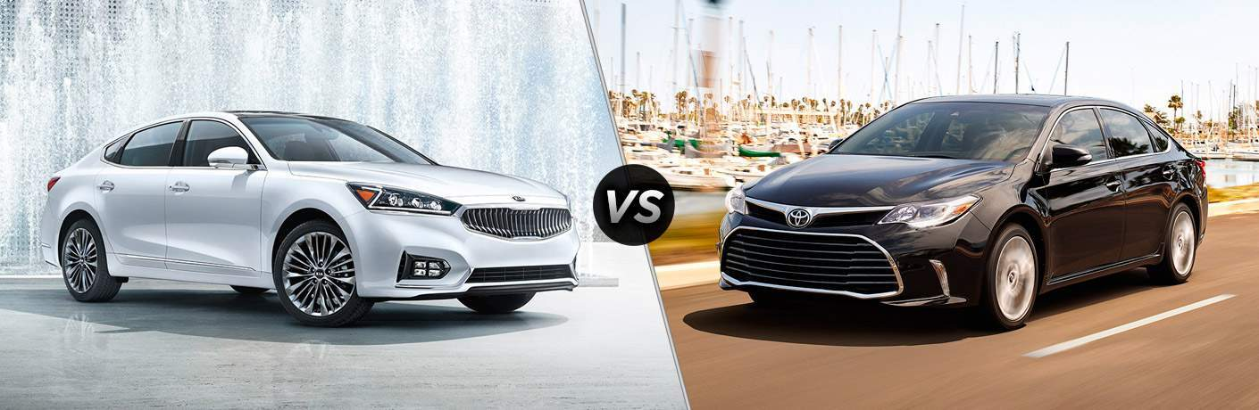 2017 Kia Cadenza vs 2017 Toyota Avalon