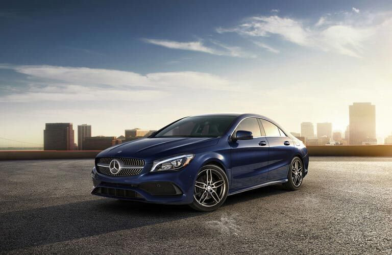 CLA Coupe Accessories Brochure