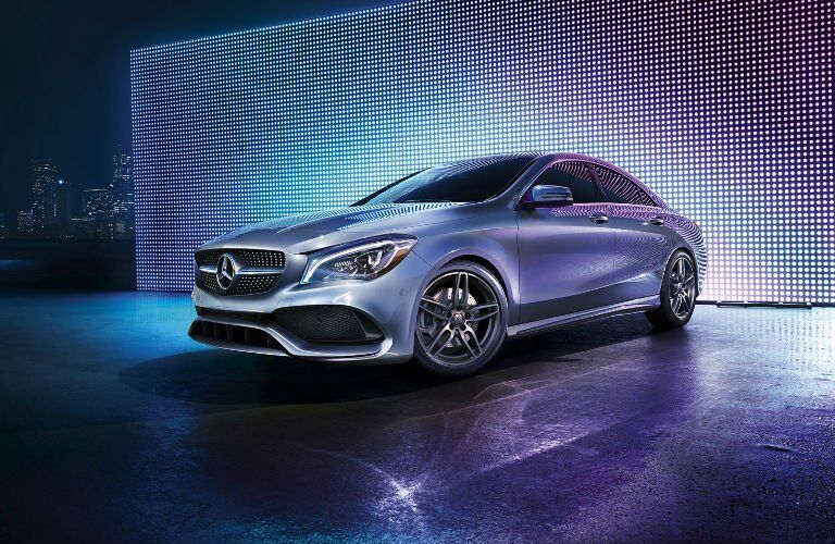 2017 CLA Coupe in Silver
